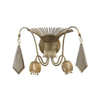 ELK Lighting Nimbus 2 Light Sconce in Antique Silver Leaf 14053/2