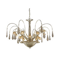 ELK Lighting Nimbus 16 Light Chandelier in Antique Silver Leaf 14054/16
