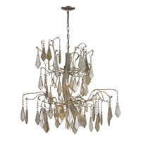 ELK 14056/6+6 Nimbus 12 Light 40 inch Antique Silver Chandelier Ceiling Light