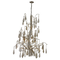 Nimbus 15 Light 37 inch Antique Silver Chandelier Ceiling Light