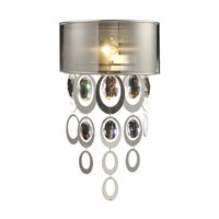 ELK Lighting Parisienne 1 Light Sconce in Silver Leaf 14060/1