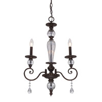ELK Lighting Trier 3 Light Chandelier in Aged Bronze 14071/3