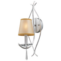 Clarendon 1 Light 5 inch Silver Wall Sconce Wall Light