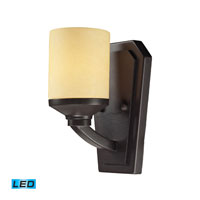 Cordova LED 6 inch Oiled Bronze Bath Bar Wall Light