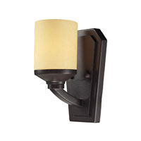 Cordova 1 Light 6 inch Oiled Bronze Bath Bar Wall Light