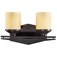 ELK Lighting Cordova 2 Light Bath Bar in Oiled Bronze 14092/2