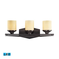 ELK Lighting Cordova 3 Light Bath Bar in Oiled Bronze 14093/3-LED