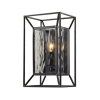 Cubix 1 Light 7 inch Oiled Bronze Wall Sconce Wall Light