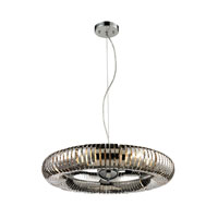 ELK Lighting Alexia 6 Light Pendant in Stainless Steel 14175/6