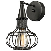 ELK Lighting Yardley 1 Light Wall Sconce in Oil Rubbed Bronze 14190/1