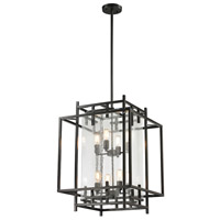 Intersections 8 Light 22 inch Oil Rubbed Bronze Pendant Ceiling Light