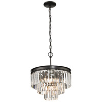 Palacial 4 Light 16 inch Oil Rubbed Bronze Pendant Ceiling Light