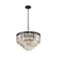 Palacial 5 Light 20 inch Oil Rubbed Bronze Pendant Ceiling Light
