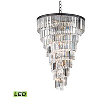 Palacial LED 36 inch Oil Rubbed Bronze Chandelier Ceiling Light