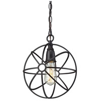 ELK Lighting Yardley 1 Light Pendant in Oil Rubbed Bronze 14241/1