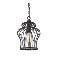 ELK Lighting Yardley 1 Light Pendant in Oil Rubbed Bronze 14242/1