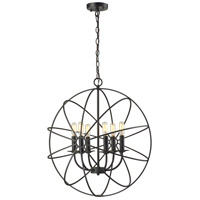 Yardley 6 Light 23 inch Oil Rubbed Bronze Chandelier Ceiling Light