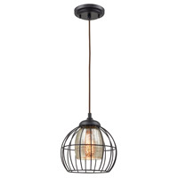 Yardley 1 Light 9 inch Oil Rubbed Bronze Pendant Ceiling Light