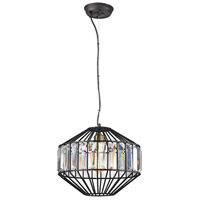 ELK 14249/1 Yardley 1 Light 13 inch Oil Rubbed Bronze Pendant Ceiling Light