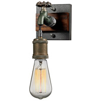 Jonas 1 Light 5 inch Multi-Tone Weathered Wall Sconce Wall Light