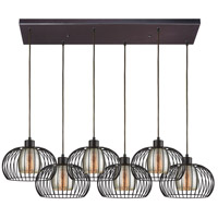 Yardley 6 Light 30 inch Oil Rubbed Bronze Pendant Ceiling Light