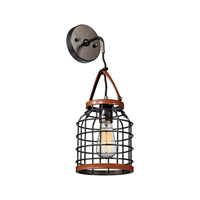 ELK Lighting Purcell 1 Light Wall Pendant in Weathered Iron 14305/1