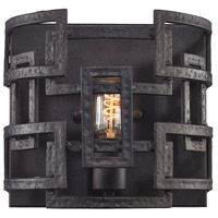 Garriston 1 Light 10 inch Clay Iron Wall Sconce Wall Light
