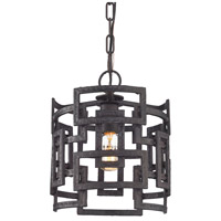Garriston 1 Light 10 inch Clay Iron Pendant Ceiling Light