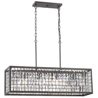 ELK 14341/4 Nadina 4 Light 11 inch Silverdust Iron Chandelier Ceiling Light