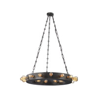 ELK 14445/24 Venue 24 Light 32 inch Speckled Iron Chandelier Ceiling Light