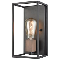 Rigby 1 Light 6 inch Oil Rubbed Bronze with Tarnished Brass Wall Sconce Wall Light