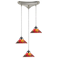 ELK Lighting Refraction 3 Light Pendant in Polished Chrome 1477/3JAS