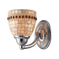 ELK Lighting Roxana 1 Light Sconce in Polished Chrome 15000/1