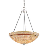 ELK Lighting Roxana 4 Light Pendant in Polished Chrome 15004/4