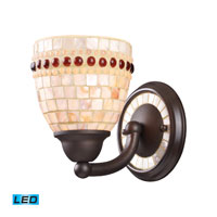 ELK Lighting Roxana 1 Light Wall Sconce in Aged Bronze 15010/1-LED