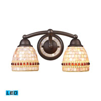 ELK Lighting Roxana 2 Light Bath Bar in Aged Bronze 15011/2-LED