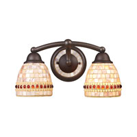 ELK Lighting Roxana 2 Light Vanity in Aged Bronze 15011/2 photo thumbnail