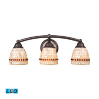 ELK Lighting Roxana 3 Light Bath Bar in Aged Bronze 15012/3-LED