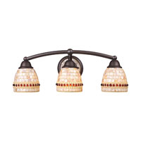 ELK Lighting Roxana 3 Light Vanity in Aged Bronze 15012/3