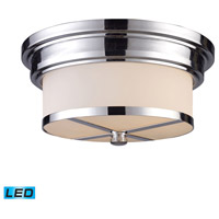 ELK Lighting Signature 2 Light Flush Mount in Polished Chrome 15015/2-LED