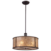 Barringer 4 Light 19 inch Aged Bronze Chandelier Ceiling Light in Standard