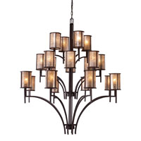 ELK 15037/8+8+4 Barringer 20 Light 50 inch Aged Bronze Chandelier Ceiling Light