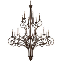 ELK 15044/12+6 Gloucester 18 Light 60 inch Antique Bronze Chandelier Ceiling Light