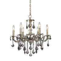 ELK Lighting Marseille 6 Light Chandelier in Weathered Silver 15046/6