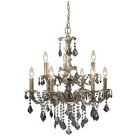 ELK Lighting Marseille 9 Light Chandelier in Weathered Silver 15047/6+3