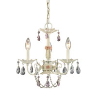ELK Lighting Elise 3 Light Chandelier in Antique White 15049/3