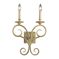 ELK Lighting Gloucester 2 Light Wall Sconce in Bleached Wood 15070/2