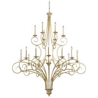 ELK Lighting Gloucester 18 Light Chandelier in Bleached Wood 15074/12+6