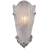 Providence 1 Light 8 inch Antique Silver Leaf Sconce Wall Light