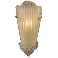 Providence 1 Light 8 inch Antique Gold Leaf Sconce Wall Light